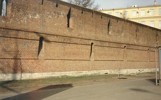 фотографии стен московского кремля