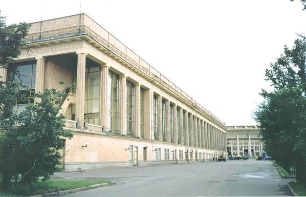Малая спортивная арена.  Лужники.